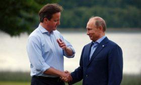 Кэмерон привел объяснение Путина насчет введения закона о гей-пропаганде