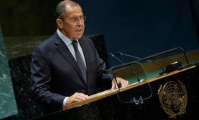Лавров в ООН предостерег от «приватизации» международных организаций