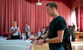 Избиркомы отчитались о явке на выборах в Москве и Петербурге
