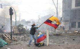 МВД Эквадора заявило о «российском следе» в протестах в стране