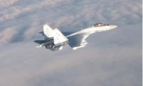 Военные Бельгии сообщили о перехвате истребителя Су-35 над Балтикой