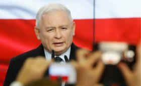 Экзитполы показали победу партии Качиньского на выборах в Польше
