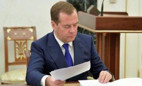Медведев потребовал завершить дискуссию по закону о защите инвестиций