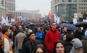 Кремль не увидел политики в приговорах по акциям протеста в Москве