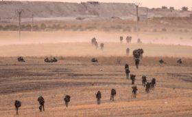 Минобороны показало карту сил в Сирии после начала операции Турции