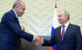 Эрдоган связал встречу с Путиным с перемирием в Сирии