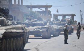 SANA сообщило о столкновении турецких войск с армией Асада