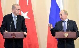 Эрдоган подробно объяснил Путину задачи операции в Сирии