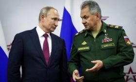 Путин создал новую военную компанию взамен Спецстроя