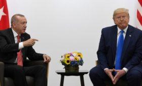 Трамп потребовал от Эрдогана прекратить военные действия в Сирии