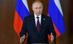 Путин заявил о выполнении задач в Сирии почти на 100%