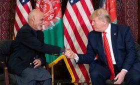 Трамп впервые посетил Афганистан