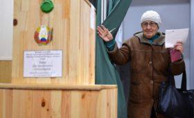 В Белоруссии завершились парламентские выборы