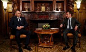 Премьер Молдавии впервые за семь лет приехал в Москву