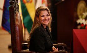 МИД заявил о признании Жанин Аньес руководителем Боливии