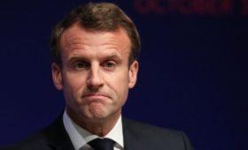 Киев вызвал посла Франции из-за слов Макрона об «украинских бандах»