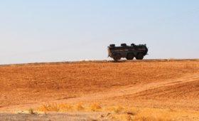 Военные назвали провокацией атаку патруля в Сирии «коктейлями Молотова»