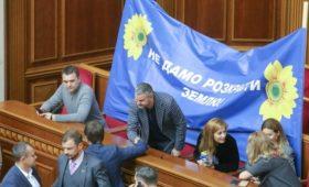 Верховная рада поддержала снятие запрета на продажу сельхозземель
