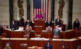 Палата представителей проголосовала за импичмент Дональда Трампа