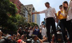 Bloomberg узнал о потере доверия Трампа к лидеру венесуэльской оппозиции