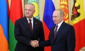 Додон рассказал про вопросы Путина о самом полезном вине