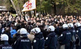 Парламент Черногории принял закон о вероисповедании на фоне протестов