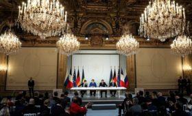 «Конфликт на 100 лет»: западные СМИ о саммите в Париже