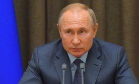 Путин заявил о связи убитого в Берлине чеченца со взрывами в метро Москвы