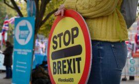 СМИ узнали о запрете Джонсона использовать термин Brexit после 31 января