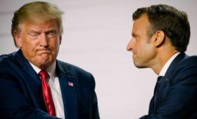 СМИ узнали о недовольстве Трампа из-за слов Макрона о «смерти мозга» НАТО