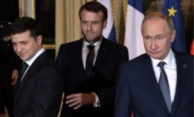 Лидеры «нормандской четверки» приняли коммюнике по итогам саммита