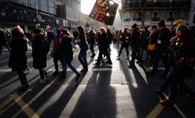 Пенсионные протесты во Франции побили рекорды «желтых жилетов»