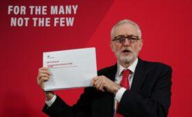 Корбин не увидел выгоду для лейбористов в публикации секретных документов