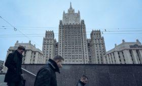 В МИД заявили о проблемах с компьютерами в посольстве в США из-за санкций