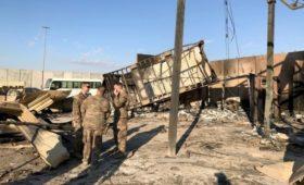 Военные с базы США в Ираке сообщили подробности удара со стороны Ирана