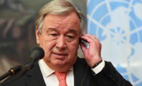 Генсек ООН назвал четырех угрожающих миру «всадников Апокалипсиса»