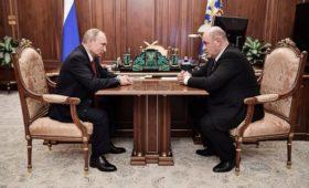 Путин предложил Мишустина на пост премьер-министра