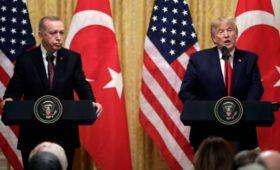Трамп предостерег Эрдогана от иностранного вмешательства в Ливию