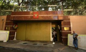На территории посольства России в Бейруте взорвались гранаты с газом