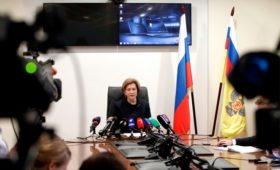В Кремле оценили меры Роспотребнадзора по борьбе с коронавирусом