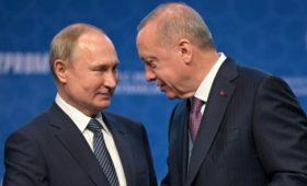 Эрдоган заявил Путину о необходимости положить конец «поведению» Хафтара