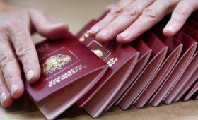 Число получивших гражданство России украинцев увеличилось почти вдвое
