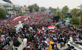 В Ираке прошли массовые протесты против военного присутствия США