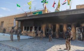 Снаряд попал в ресторан посольства США при ракетном обстреле в Багдаде