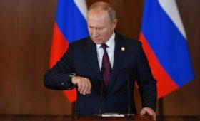 Путин из-за реализации послания напомнил о «не резиновом» времени