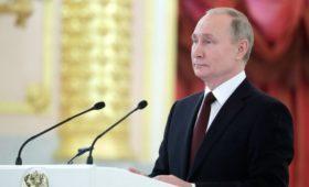 Путин заявил о разрушении мировой системы контроля над вооружениями
