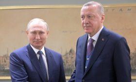 Турция сообщила о согласии Путина встретиться с Эрдоганом