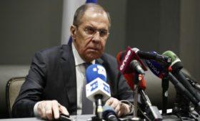Лавров сообщил о желании России обменяться послами с Украиной