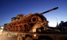 Минобороны заявило о поддержке Турцией наступления боевиков в Идлибе