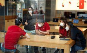 Apple временно закрыла все магазины в Китае из-за вспышки коронавируса
